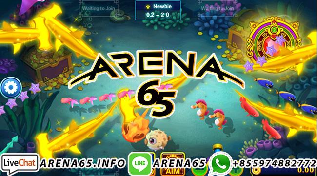 Arena65 Tembak Ikan Online Terpopuler Indonesia